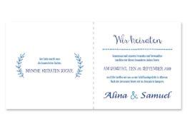 save the date ornamente vintage blau hochzeitsgrafik onlineshop papeterie