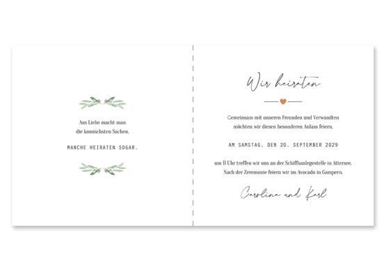 einladung vintage oliven toskana tuscany aquarell hochzeitsgrafik onlineshop papeterie