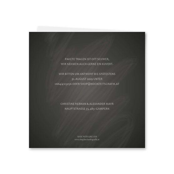 einladung vintage schlüssel chalkboard schwarz weiß skelett lichterketten luster hochzeitsgrafik onlineshop papeterie