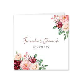 einladung vintage blumen rosa pastel aquarell hochzeitsgrafik onlineshop papeterie