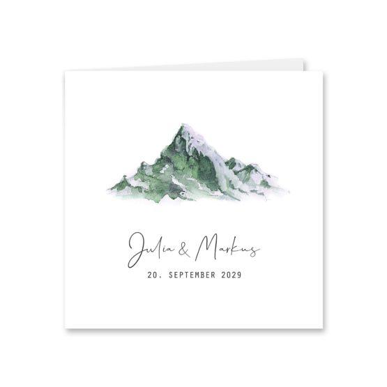 einladunge vintage landschaft berg berge aquarell hochzeitsgrafik onlineshop papeterie