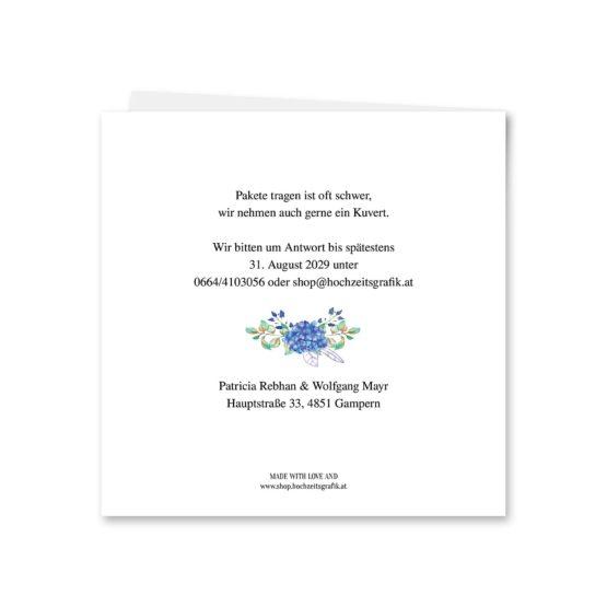 einladung vintage blumenkranz tracht hirsch herz blumen watercolor aquarell acryl hochzeitsgrafik onlineshop papeterie