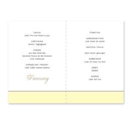 kirchenheft klappkarte hochzeit blumen vintage grau gold hochzeitsgrafik onlineshop papeterie