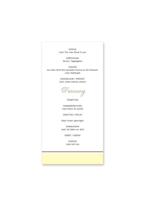 kirchenheft hochzeit blumen vintage grau gold hochzeitsgrafik onlineshop papeterie