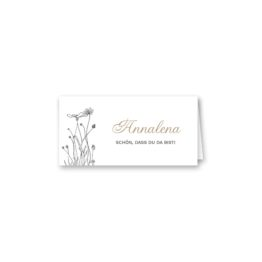 tischkarte klappkarte hochzeit blumen vintage grau gold hochzeitsgrafik onlineshop papeterie