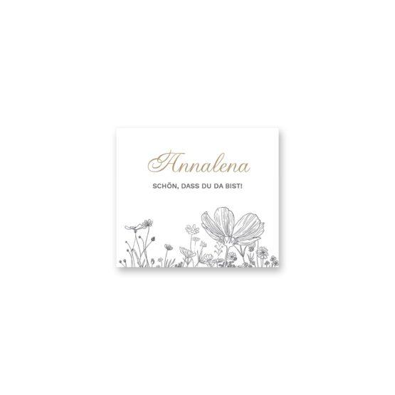 tischkarte hochzeit blumen vintage grau gold hochzeitsgrafik onlineshop papeterie