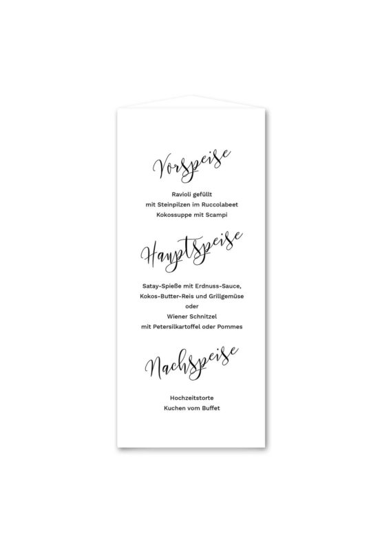 menükarte dreieick hochzeit kalligrafie calligraphy lettering hochzeitsgrafik onlineshop papeterie