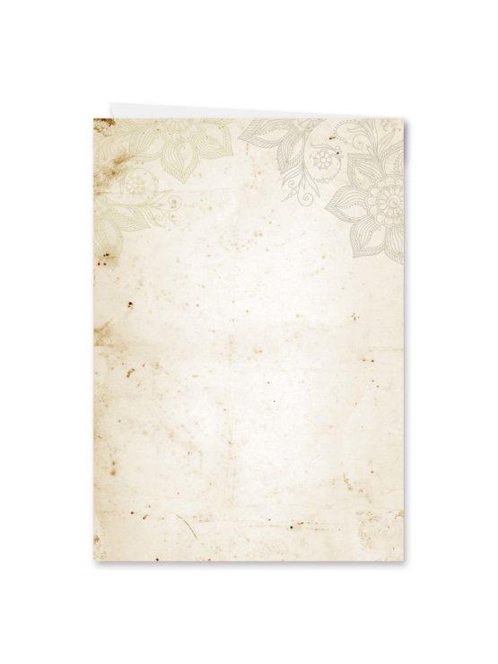 kirchenheft klappkarte hochzeit vintage blumen spitze braun hochzeitsgrafik onlineshop papeterie