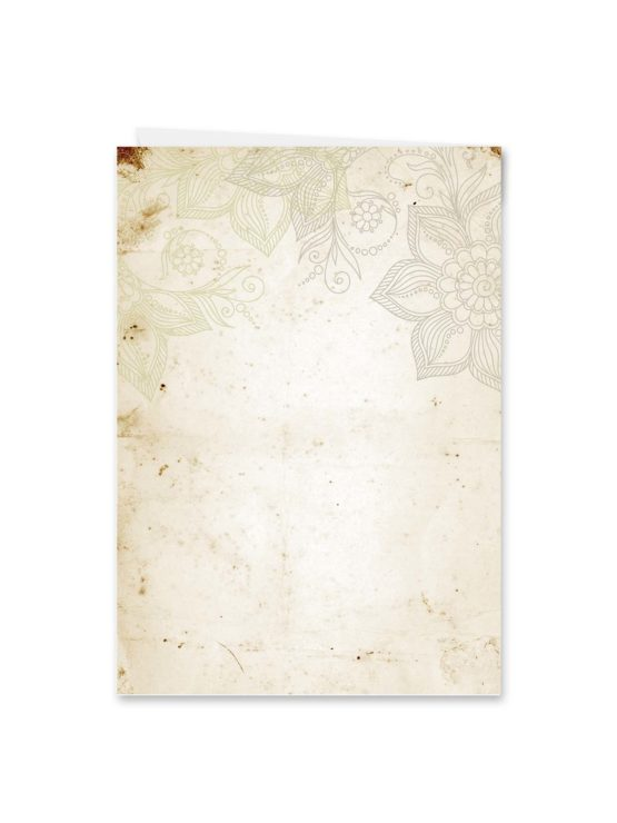menükarte klappkarte hochzeit vintage blumen spitze braun hochzeitsgrafik onlineshop papeterie