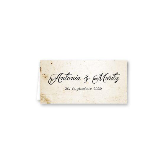 tischkarte klappkarte hochzeit vintage blumen spitze braun hochzeitsgrafik onlineshop papeterie