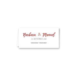tischkarte klappkarte hochzeit vintage blumenkranz rot grün hochzeitsgrafik onlineshop papeterie