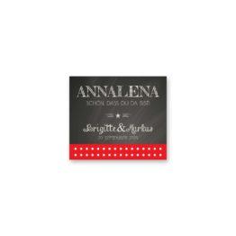 tischkarte hochzeit rockabilly rot schwarz weiß polka dots hochzeitsgrafik onlineshop papeterie