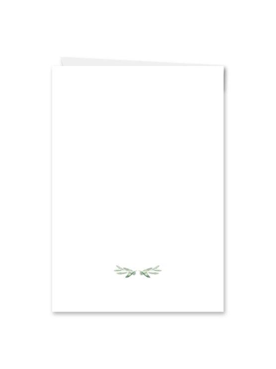 kirchenheft klappkarte hochzeit vintage oliven toskana tuscany aquarell hochzeitsgrafik onlineshop papeterie