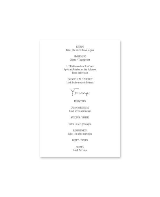 kirchenheft fächer hochzeit vintage oliven toskana tuscany aquarell hochzeitsgrafik onlineshop papeterie
