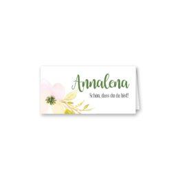 tischkarte klappkarte hochzeit vintage blumen aquarell pastel hochzeitsgrafik onlineshop papeterie