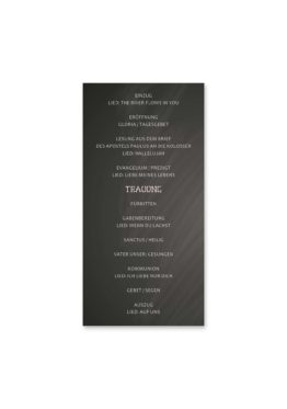 kirchenheft hochzeit vintage schlüssel chalkboard schwarz weiß skelett lichterketten luster hochzeitsgrafik onlineshop papeterie