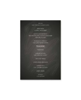 kirchenheft fächer hochzeit vintage schlüssel chalkboard schwarz weiß skelett lichterketten luster hochzeitsgrafik onlineshop papeterie
