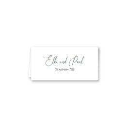 tischkarte klappkarte hochzeit vintage blumen kranz gold glitzer logo monogram hochzeitsgrafik onlineshop papeterie
