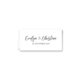 klappkarte tischkarte hochzeit vintage blumen kranz greenery grün eucalyptus hochzeitsgrafik onlineshop papeterie