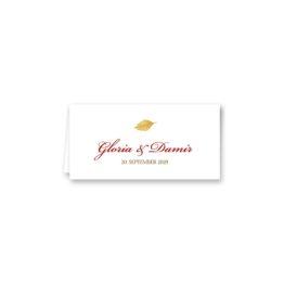 tischkarte klappkarte hochzeit vintage aquarell herbst orange rot hochzeitsgrafik onlineshop papeterie
