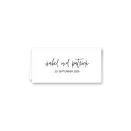 tischkarte klappkarte hochzeit elegant geometrie puristisch glitzer rose hochzeitsgrafik onlineshop papeterie