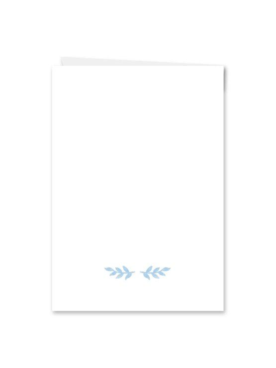 menükarte klappkarte hochzeit vintage aquarell blumen blau rot feder hochzeitsgrafik onlineshop papeterie