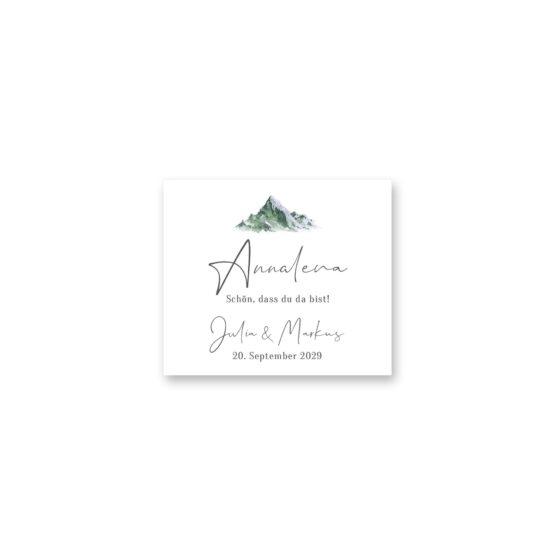 tischkarte hochzeit vintage landschaft berg berge aquarell hochzeitsgrafik onlineshop papeterie