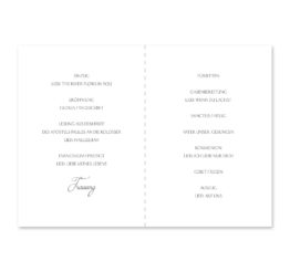 kirchenheft klappkarte hochzeit vintage logo monogramm blumenkranz hortensien kirschblüten blau grün creme hochzeitsgrafik onlineshop papeterie