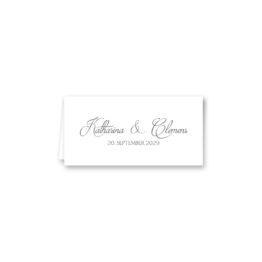 tischkarte klappkarte hochzeit vintage logo monogramm blumenkranz hortensien kirschblüten blau grün creme hochzeitsgrafik onlineshop papeterie
