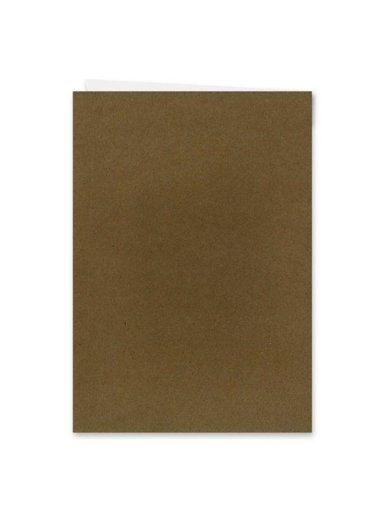 menükarte klappkarte hochzeit vintage kraft kraftpapier braun weiß weißdruck berge logo hochzeitsgrafik onlineshop papeterie