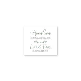 tischkarte hochzeit vintage blumenkranz grün rosa eucalyptus logo monogramm hochzeitsgrafik onlineshop papeterie