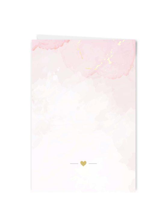 menükarte klappkarte hochzeit vintage watercolor gold rosa aquarell hochzeitsgrafik onlineshop papeterie