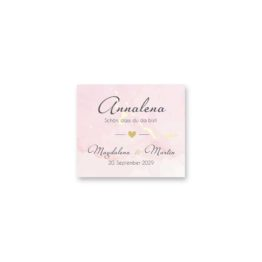tischkarte hochzeit vintage watercolor gold rosa aquarell hochzeitsgrafik onlineshop papeterie