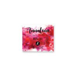 tischkarte hochzeit vintage farbenfroh watercolor beere pink lila hochzeitsgrafik onlineshop papeterie
