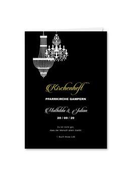 kirchenheft klappkarte hochzeit elegant gold schwarz luster hochzeitsgrafik onlineshop papeterie