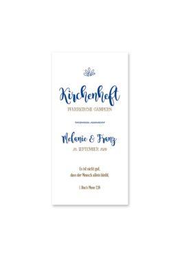 kirchenheft hochzeit vintage ornamente braun blau elemente hochzeitsgrafik onlineshop papeterie
