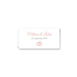 tischkarte klappkarte hochzeit elegant rosen rosa weiß grün geometrie gold hochzeitsgrafik onlineshop papeterie