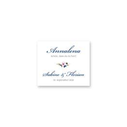 tischkarte hochzeit vintage aquarell acyrl watercolor blumen kranz blau rosa hochzeitsgrafik onlineshop papeterie