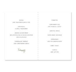 kirchenheft klappkarte hochzeit vintage watercolor aquarell acryl greenery malerei geometrie rahmen gold hochzeitsgrafik onlineshop papeterie