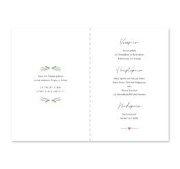menükarte klappkarte hochzeit vintage oliven toskana tuscany aquarell hochzeitsgrafik onlineshop papeterie