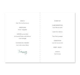 kirchenheft klappkarte hochzeit vintage blumenkranz rosa grau grün eucalyptus aquarell acryl hochzeitsgrafik onlineshop papeterie